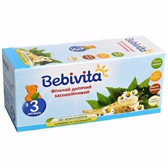 Фиточай Bebivita детский успокаивающий с 3 мес 30 г