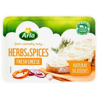 Крем-сир з травами та спеціями Arla 150г