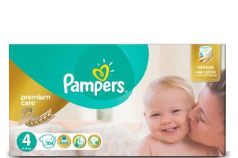 Дитячі підгузки Pampers Premium Care Mega Pack Maxi (8–14 кг) 104 шт./уп
