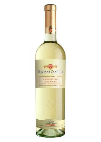 Вино напівсолодке Fontana Candida Cannellino Frascati Amabile 0.75л