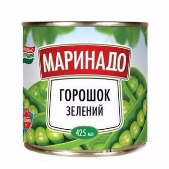 Горошок зелений Маринадо 425 г