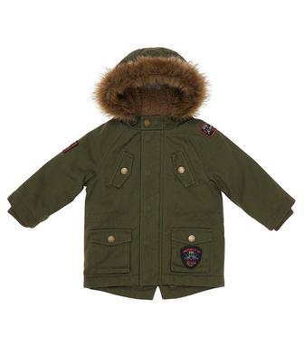 Куртка-парка кольору хакі від Mothercare