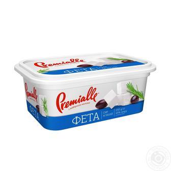 Скидка 22% ▷ Сыр мягкий фета Premialle 45% 250г