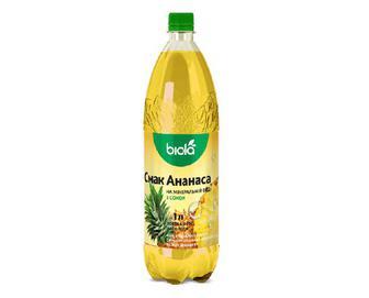 Напій «Біола» на мінеральній воді смак ананаса, 1л