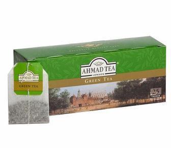 Чай Класичний чорний, Китайський зелений 25 пак Ahmad Tea