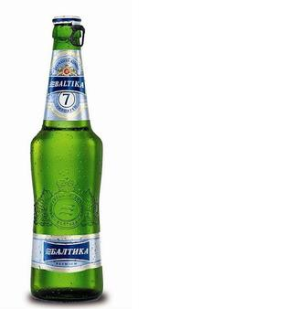 Пиво №7 Експортне 5,4%, Балтика, 0,5л