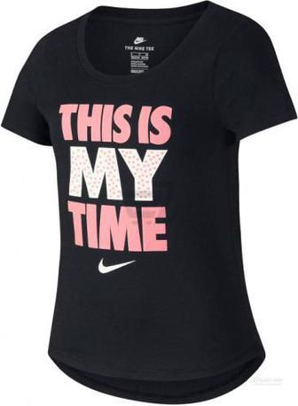 Футболка Nike G NSW TEE THIS IS MY TIME 923645-010 L чорний