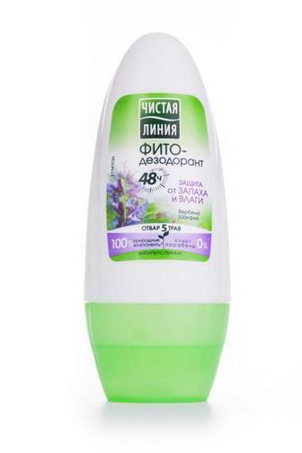 Дезодорант кульковий Чистая Линия Захист від запаху і вологи 50 мл