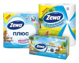 Серветки та рушники кухонні ZEWA