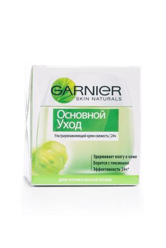 Крем для лица Garnier Основной уход для нормальной и смешанной кожи увлажняющий, 50мл