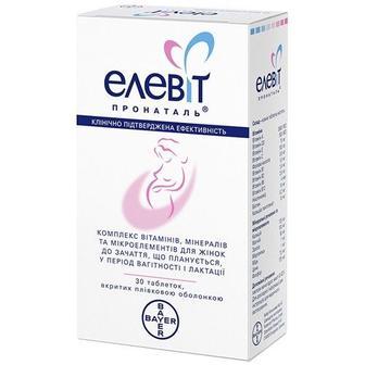 Элевит пронаталь таблетки №30, Bayer Consumer Care