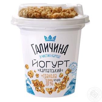 Йогурт 3% Карпатський з гранолою 275г