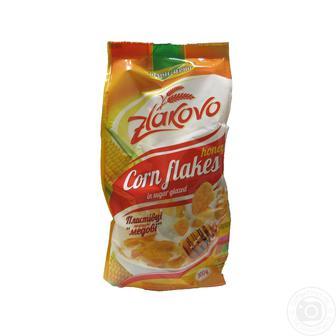 Пластівці кукурудзяні глазуровні або «Медові» Zlakovo 300 г