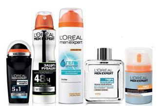 Дезодоранти-антиперспіранти, засоби для та після гоління L'Oreal Paris Men Expert