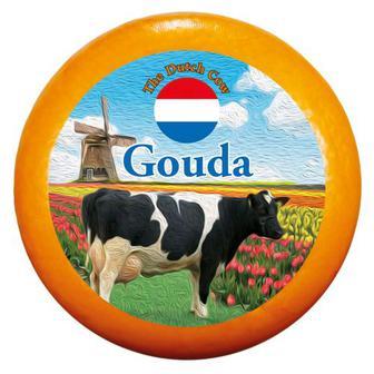 Скидка 33% ▷ Сир Гауда 48% Dutch Cow Нідерланди ваг