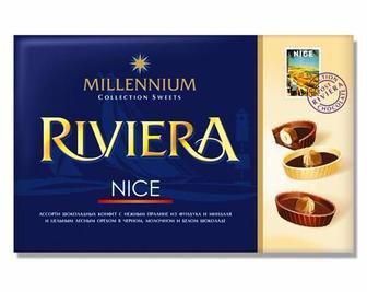 Цукерки асорті Riviera nice Millenium 250 г
