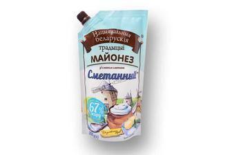 Майонез зі смаком сметани, 67% Національні Білоруські Традиції 300 г