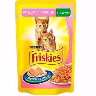 Консерва для котів Фріскіс, 100г