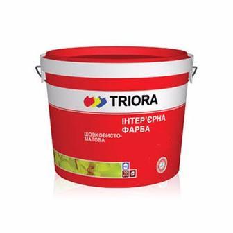 Фарба інтер'єрна TRIORA акрилова матова біла 10 л