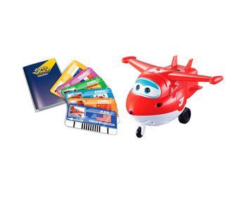 Інтерактивна іграшка Super Wings Jett з картками (YW710410)