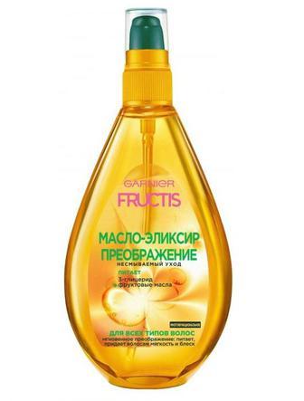 Масло-эликсир FRUCTIS для всех типов волос, 150 мл