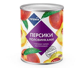Персики половинками «Премія»® 420г