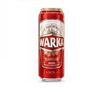 Пиво світле  Warka 0.5 л