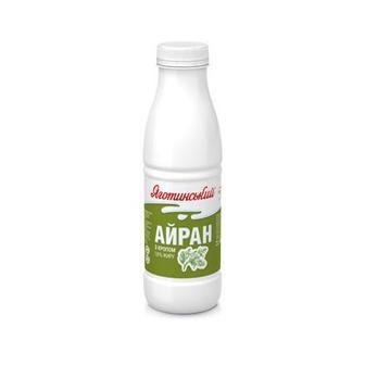 Напій кисломолочний Айран з кропом, 1,8% Яготинський 450 г