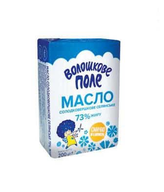Масло солодковершкове Селянське Волошкове Поле 200г
