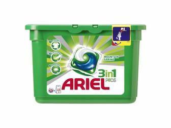 Гель-капсули для прання Ariel Гірське джерело/Колор 13шт