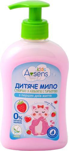 Дитяче мило Asens Kids з ароматом полуниці 300 мл