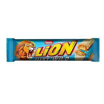 Батончик шоколадний JUST WILD класичний або з арахісом LION 31 г/ 48 г