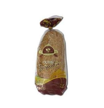 Хліб здоров'я в упаковці Цар Хліб 400 г