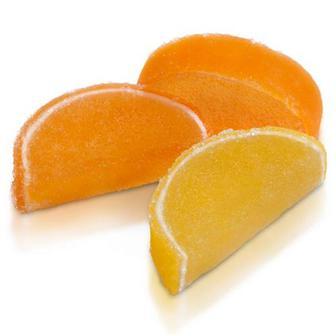 Мармелад Апельсинові та лимонні дольки ХБФ, Україна