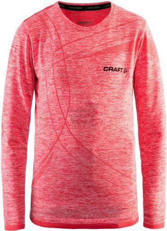 Термофутболка Craft Active Comfort Rn Ls Junior р. 134-140 рожевий 1903777-B452