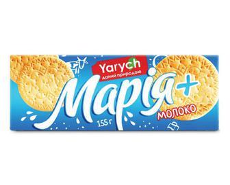 Печиво Yarych «Марія» з молоком та кальцієм, 155г