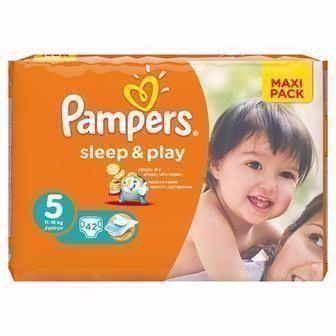 Підгузники для дітей Pampers Sleep&Play