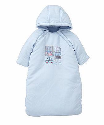 Конверт блакитного кольору для малюків від Mothercare