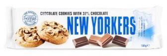Печенье NEW YORKERS с шоколадом 150г