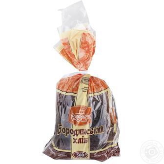 Хліб Рум'янець Бородинський житньо-пшеничний нарізка 500г