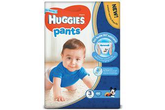 Підгузки-трусики Huggies Pants для хлопчиків 3 (6-11 кг) 44 шт