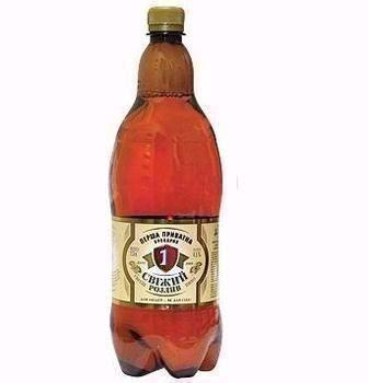 Пиво Свіжий Розлив  1,3л