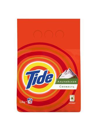 Стиральный порошок Tide Альпийская свежесть 1,5 кг