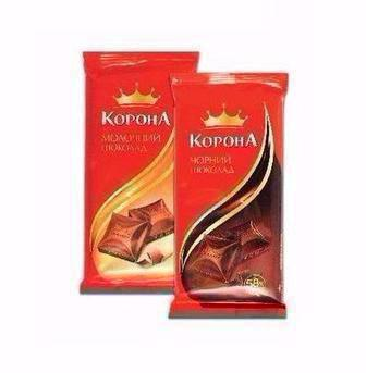 Знижка на весь шоколад  Корона 90 г