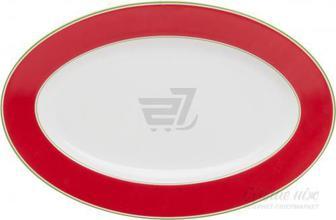 Блюдо Emotion 30,5 см червоне Auratic