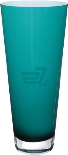 Ваза конусна Maestro скляна колір: опал, зелений 17х38 см Wrzesniak Glassworks