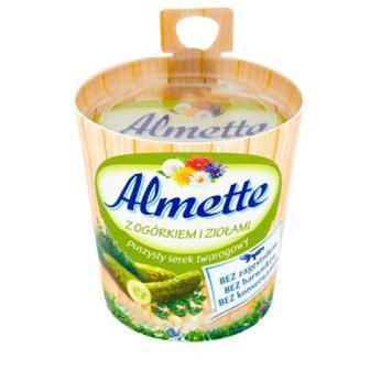 Сир Chochland вершковий/ зелений Almette 8* 150г