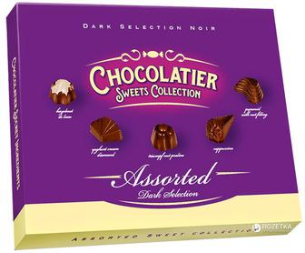 Цукерки Любімов у молочному шоколаді Chocolatier 250г