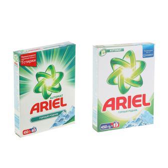 Порошок стиральный Ariel автомат Горный родник 450 г