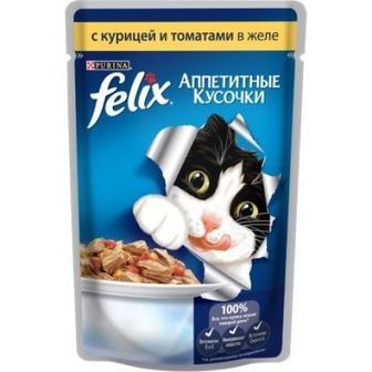 Корм д/котів Felix